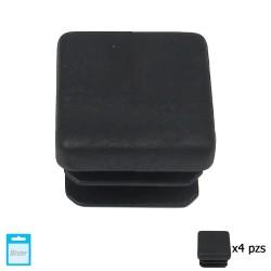Cojin Azul / Blanco Silla Para Silla Monoblock Respaldo Bajo 80x42x2 cm.