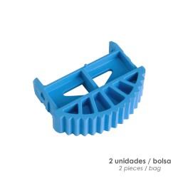 Gafas Proteccion En166 Patillas Ajustables Ambar