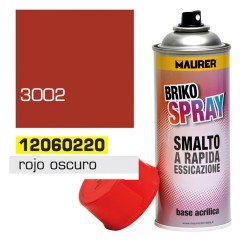 Spray Pintura Rojo Oscuro Carmin 400 ml.