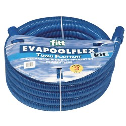 Manguera Piscinas Eva Pool Rollo 15 Metros Con Conectores