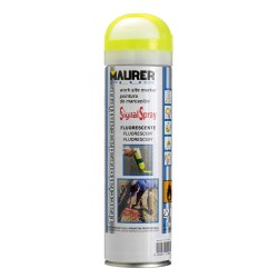 Spray Pintura Trazador Amarillo Fluoresce 500 ml.