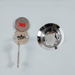Cerrojo b-2 llave 2 lados pasador de 183mm cilindro redondo de 50mm