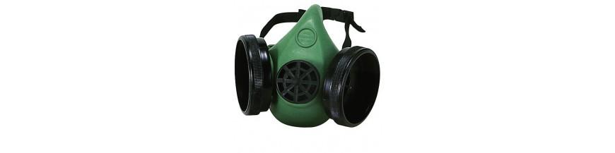 Mascarillas respiratorias y filtros