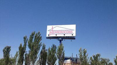 Imagen de cartel instalaciones Herrerocons
